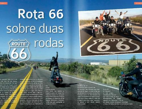 Rota 66 sobre duas rodas
