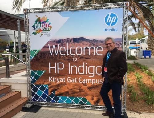 Diretor da Corgraf, visita fábrica da HP INDIGO em Israel