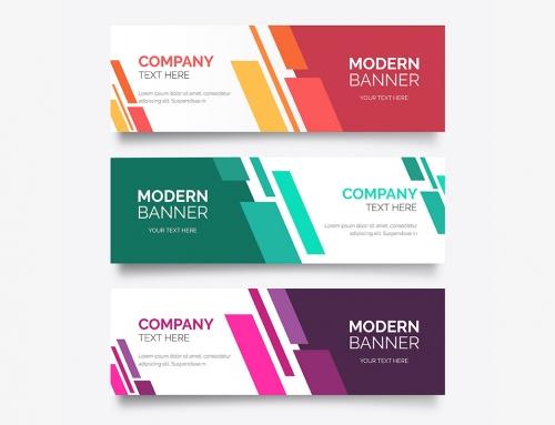 Banners corporativos impressos: 3 dicas de design