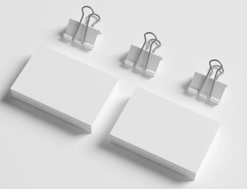 3 dicas para montar um cartão de visitas de impacto