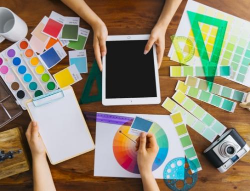 Como escolher e combinar cores nos seus materiais gráficos